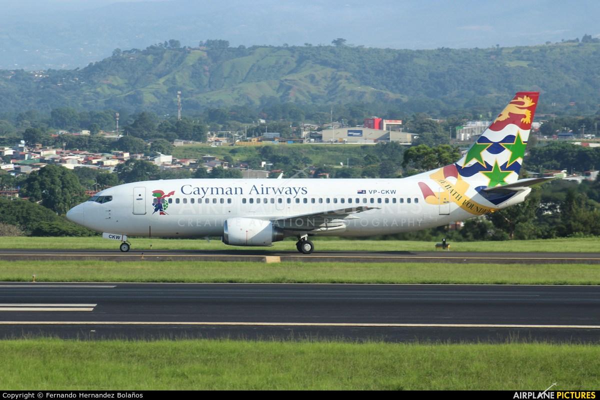 Cayman Airways VP-CKW aircraft at San Jose - Juan Santamaría Intl