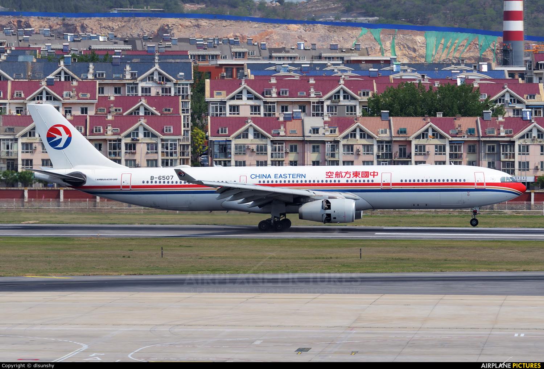 China Eastern Airlines B-6507 aircraft at Dalian Zhoushuizi Int'l