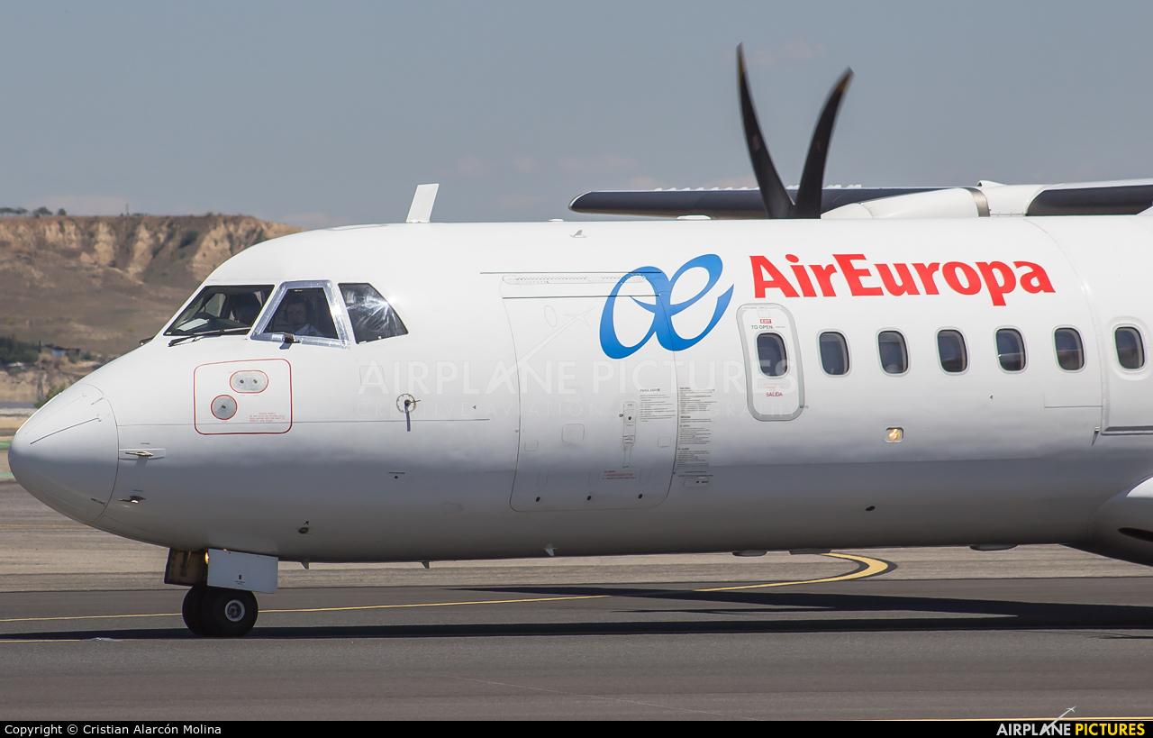 Air Europa EC-LYJ aircraft at Madrid - Barajas