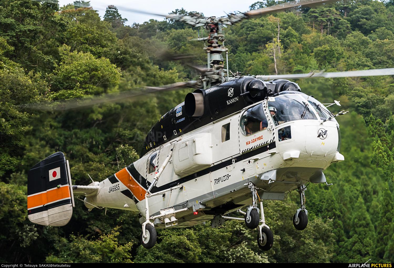 Akagi Helicopter JA6955 aircraft at Off Airport - Japan
