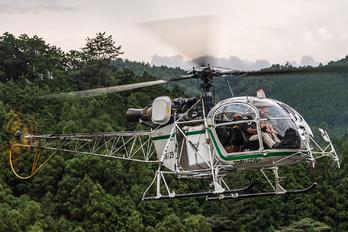 JA6129 - Akagi Helicopter Aerospatiale SA-315B Lama