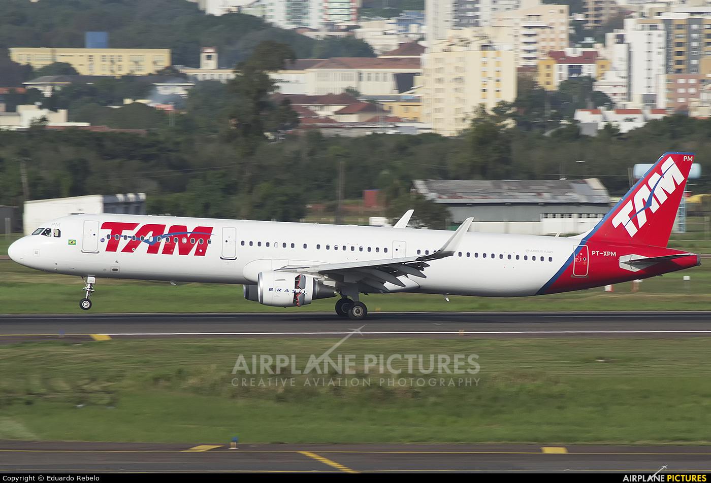 TAM PT-XPM aircraft at Porto Alegre - Salgado Filho