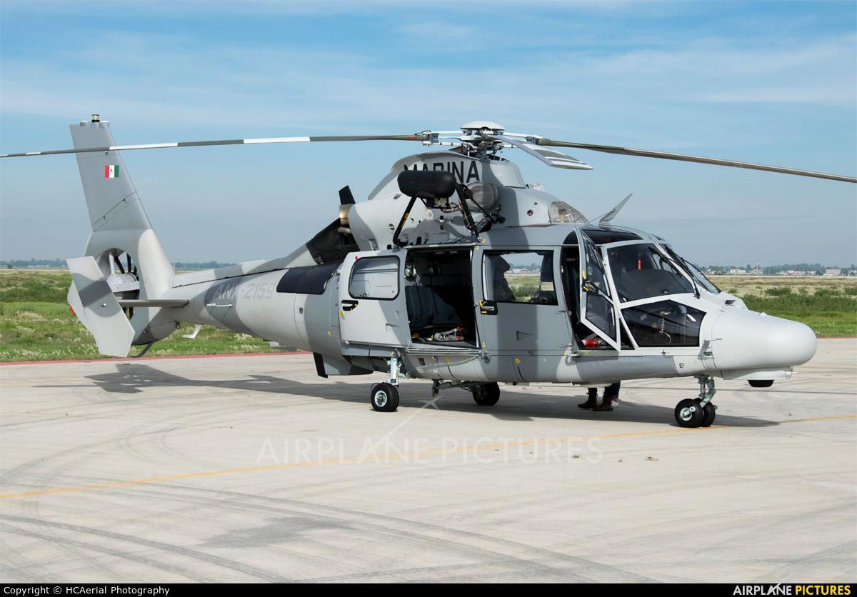 Mexico - Navy ANX-2159 aircraft at Santa Lucia AB
