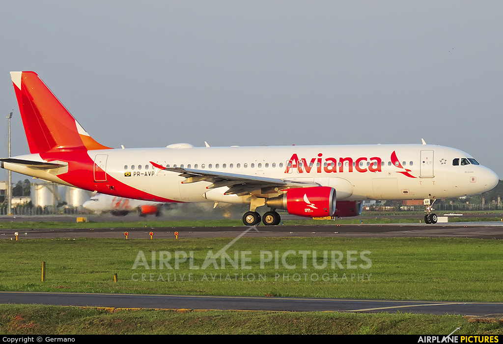 Avianca Brasil PR-AVP aircraft at Porto Alegre - Salgado Filho