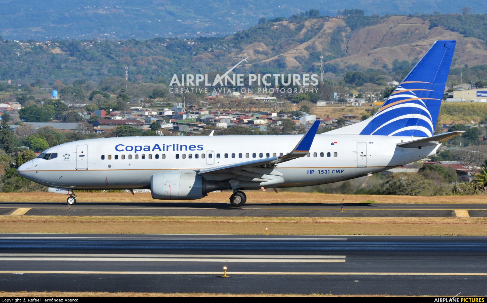 Copa Airlines HP-1531CMP aircraft at San Jose - Juan Santamaría Intl