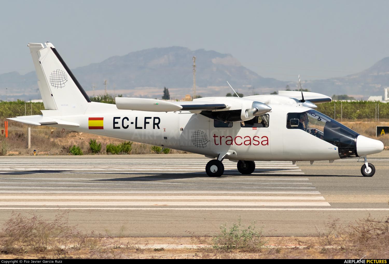 EC-LFT aircraft at Murcia - San Javier