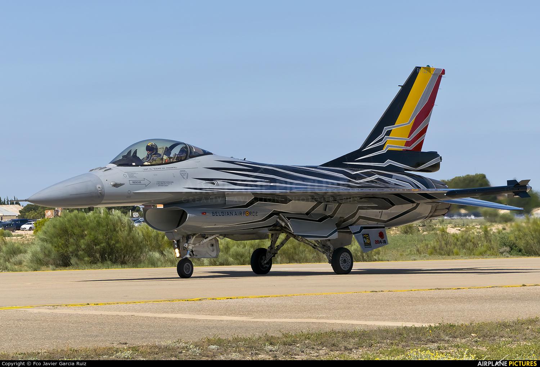 Belgium - Air Force FA-123 aircraft at Zaragoza