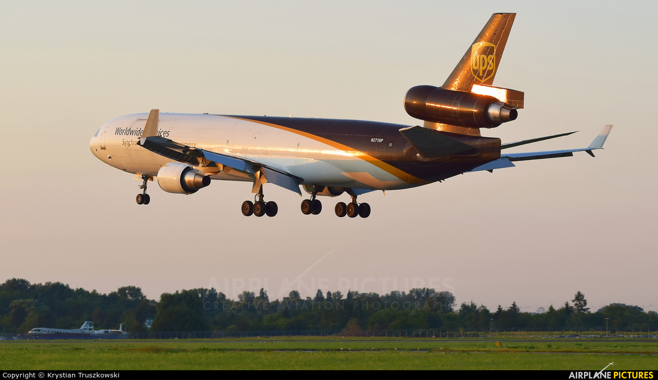 UPS - United Parcel Service N271UP aircraft at Warsaw - Frederic Chopin