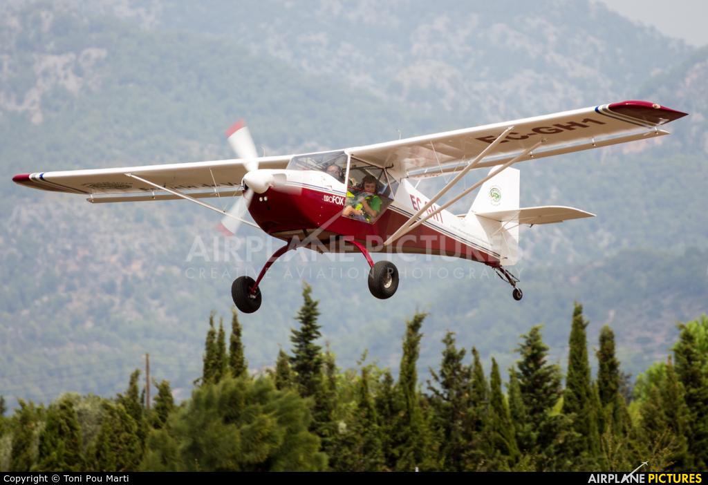 Private EC-GH1 aircraft at Palma de Mallorca