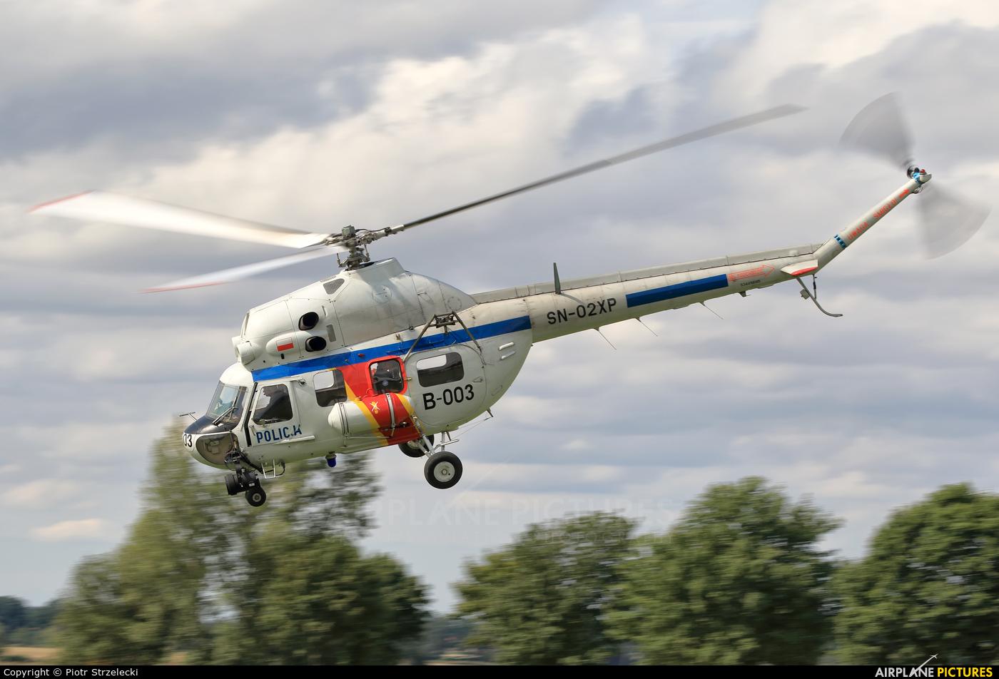 Poland - Police SN-02XP aircraft at Świebodzice