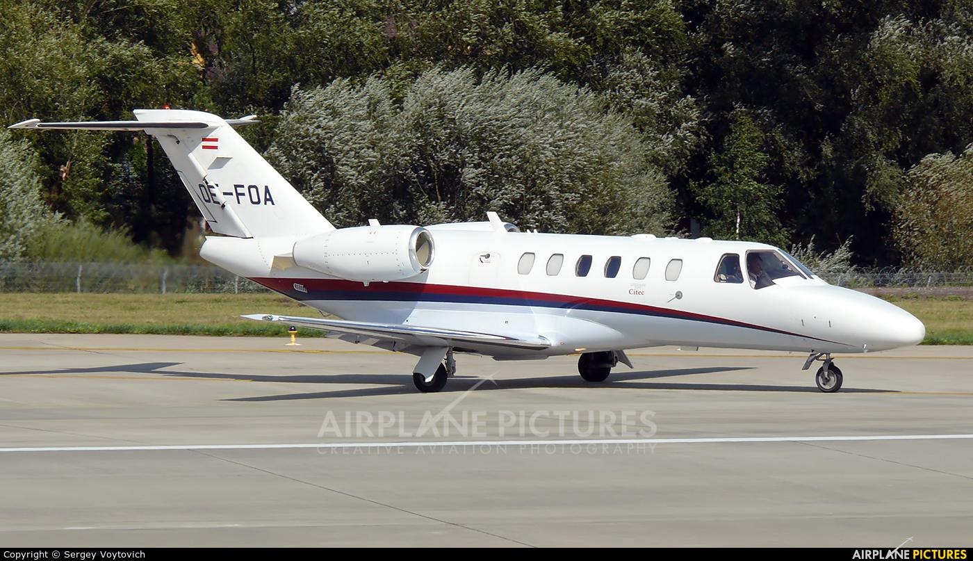 Private OE-FOA aircraft at Lviv Danylo Halytskyi International Airport