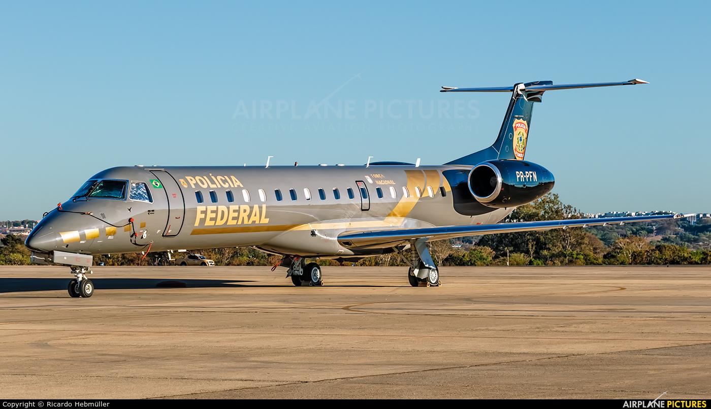 Brazil - Federal Police PR-PFN aircraft at Brasília - Presidente Juscelino Kubitschek Intl