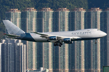 VP-BCI - Sky Gates Airlines Boeing 747-400F, ERF