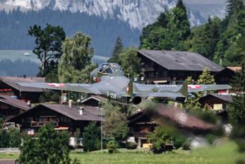 HB-RVJ - Fliegermuseum Altenrhein de Havilland DH.115 Vampire T.55