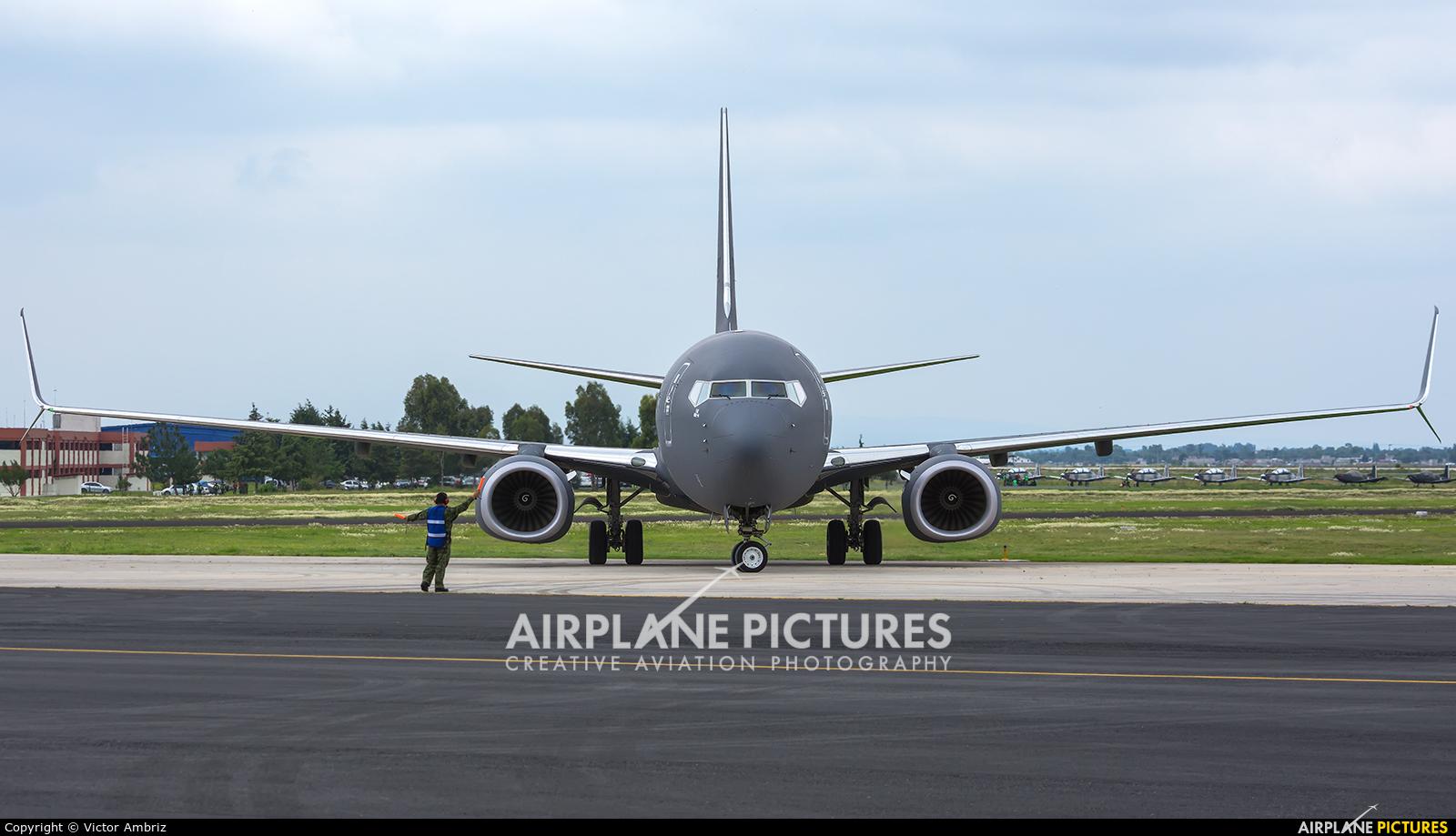 Mexico - Air Force 3528 aircraft at Santa Lucia AB