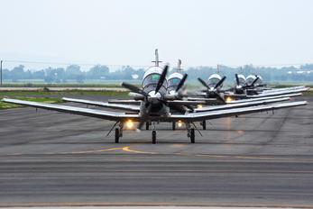 2011 - Mexico - Air Force Beechcraft T-6 Texan II