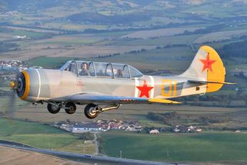 G-YKSZ - Private Yakovlev Yak-52