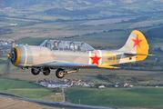 G-YKSZ - Private Yakovlev Yak-52 aircraft