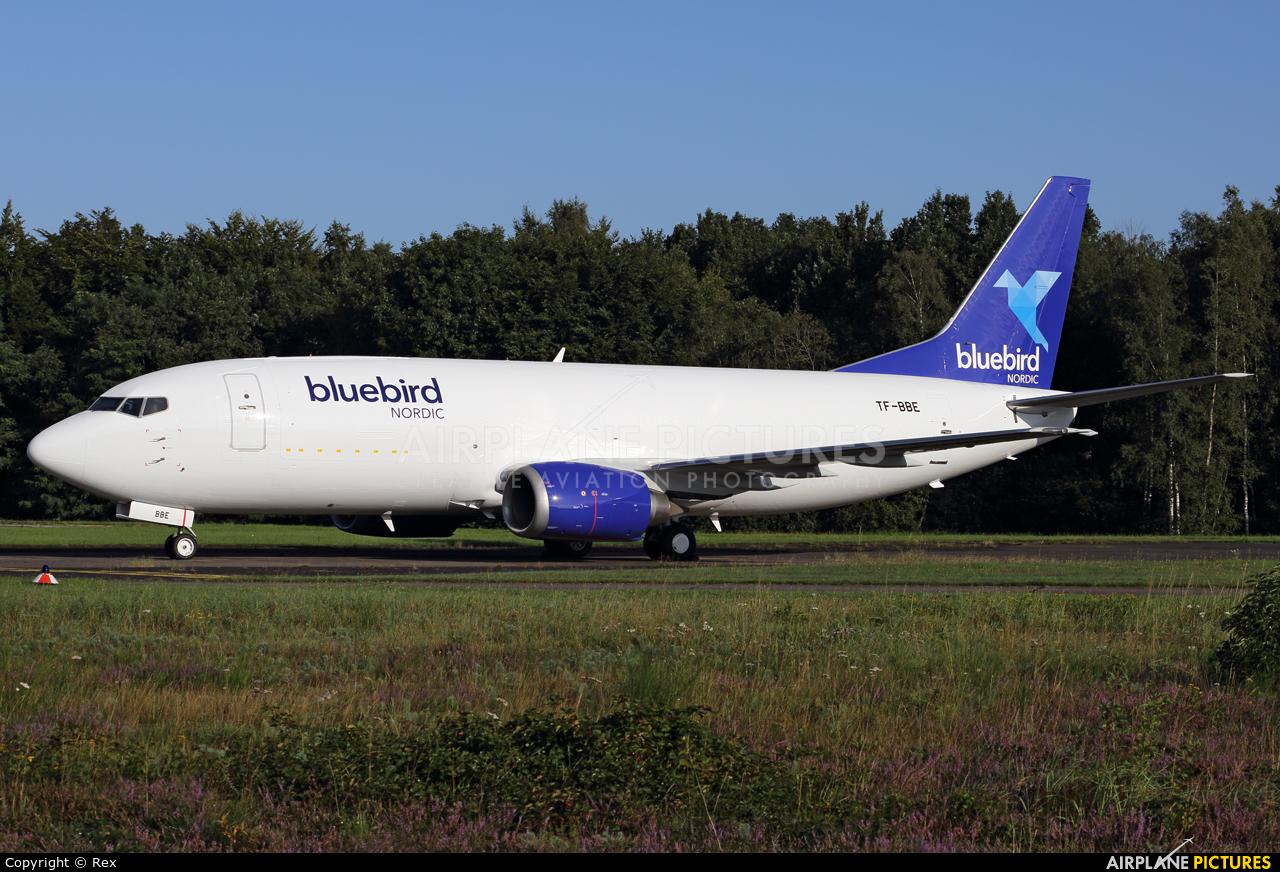 Bluebird Nordic TF-BBE aircraft at Cologne Bonn - Konrad Adenauer