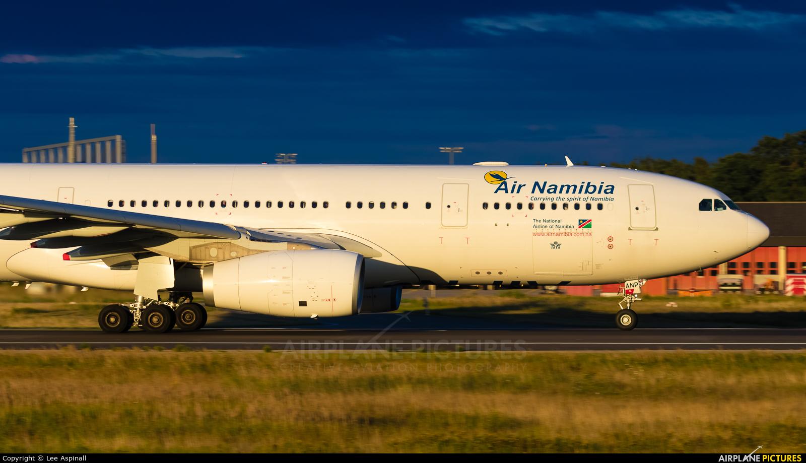 Air Namibia V5-ANP aircraft at Frankfurt