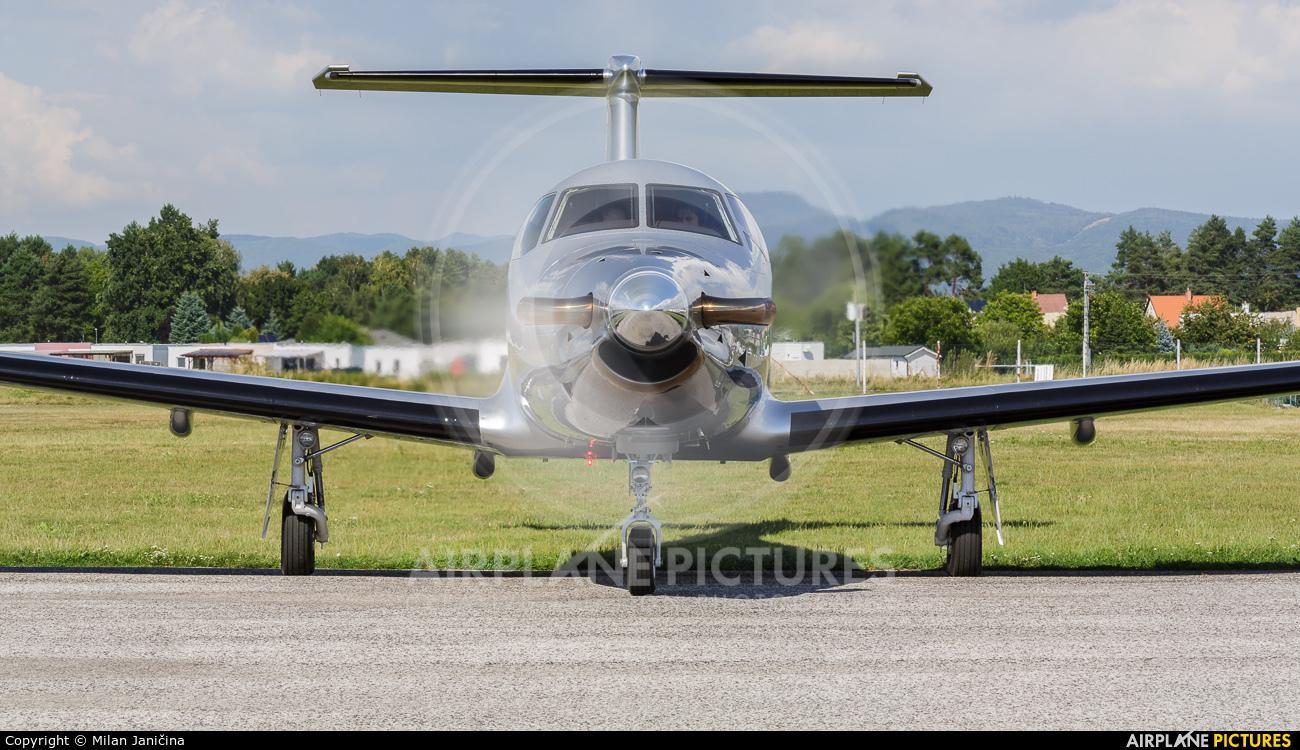 Private OK-PCD aircraft at Prievidza
