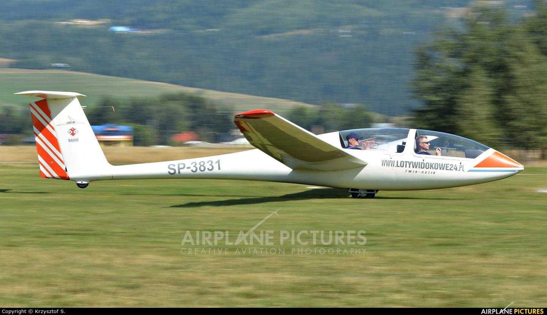 Aeroklub Nowy Targ SP-3831 aircraft at Nowy Targ