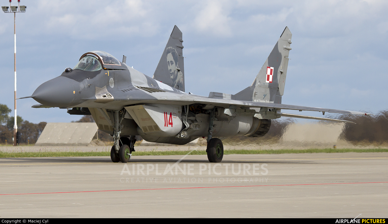 Poland - Air Force 114 aircraft at Poznań - Krzesiny