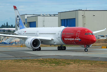 G-CKKL - Norwegian Air UK Boeing 787-9 Dreamliner
