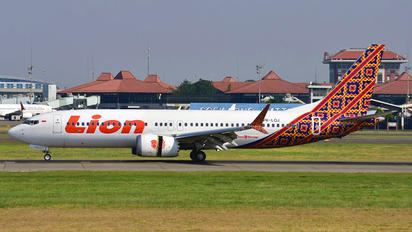 PK-LQJ - Lion Airlines Boeing 737-8 MAX