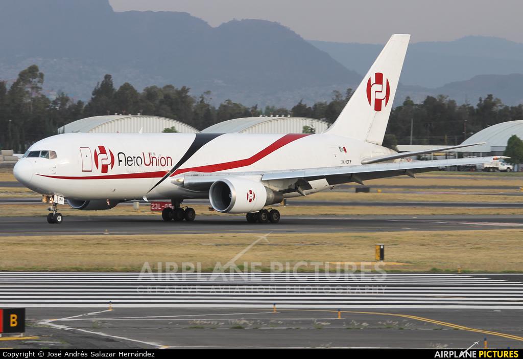Aero Union XA-EFR aircraft at Mexico City - Licenciado Benito Juarez Intl