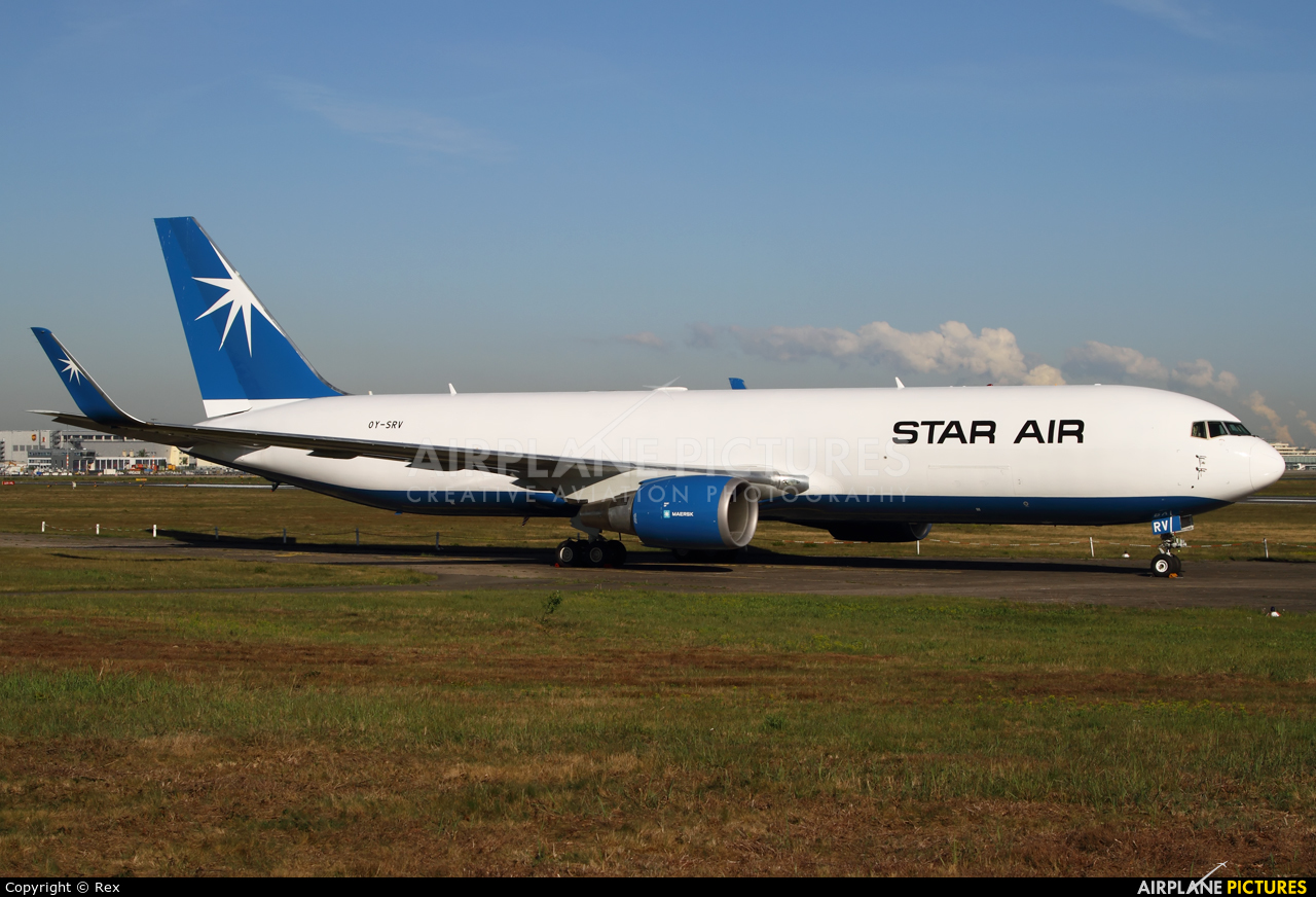Star Air OY-SRV aircraft at Cologne Bonn - Konrad Adenauer