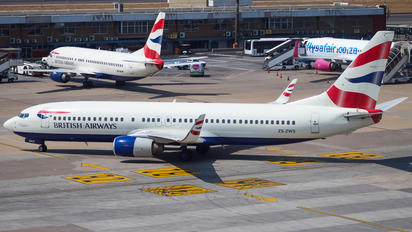 ZS-ZWS - Comair Boeing 737-800