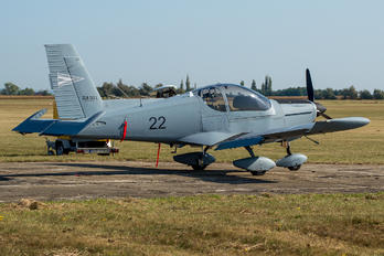 22 - Hungary - Air Force Zlín Aircraft Z-242