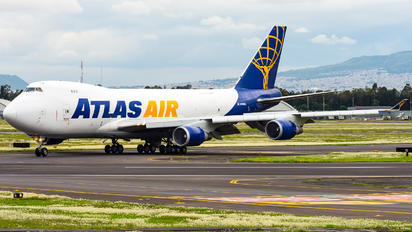 N496MC - Atlas Air Boeing 747-400F, ERF