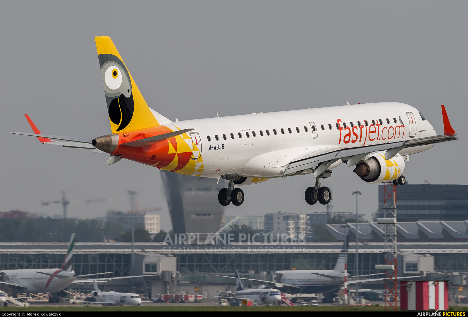 Fastjet M-ABJB aircraft at Warsaw - Frederic Chopin
