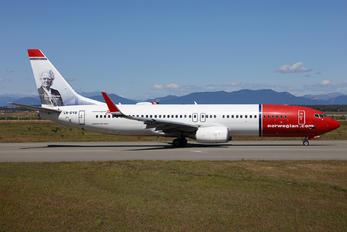 LN-DYB - Norwegian Air Shuttle Boeing 737-800