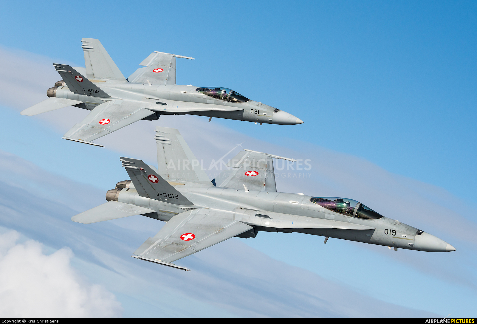 Switzerland - Air Force J-5019 aircraft at Off Airport - Belgium