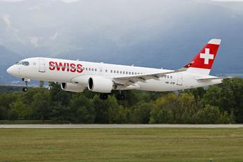 HB-JCB - Swiss Bombardier CS300