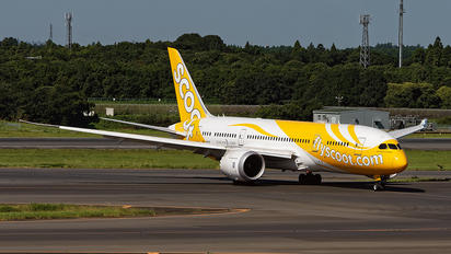 9V-OFE - Scoot Boeing 787-8 Dreamliner
