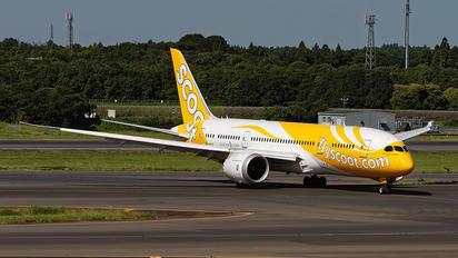 9V-OFE - Scoot Boeing 787-8 Dreamliner