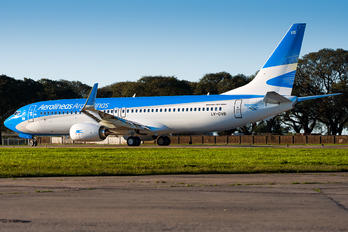 LV-GVB - Aerolineas Argentinas Boeing 737-800