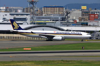 9V-STZ - Singapore Airlines Airbus A330-300