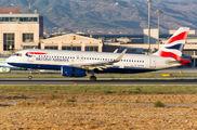 G-EUYW - British Airways Airbus A320 aircraft
