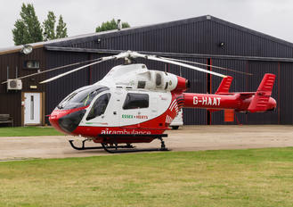 G-HAAT - Essex Air Ambulance MD Helicopters MD-900 Explorer