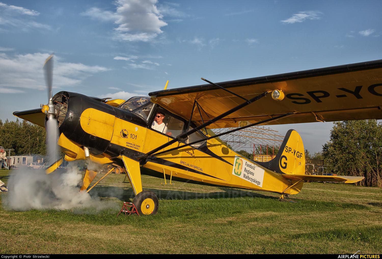 Aeroklub Ziemi Wałbrzyskiej SP-YGF aircraft at Świebodzice