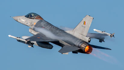 FA-107 - Belgium - Air Force General Dynamics F-16AM Fighting Falcon