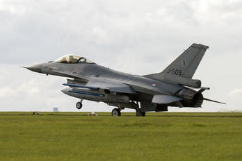 J-509 - Netherlands - Air Force General Dynamics F-16A Fighting Falcon