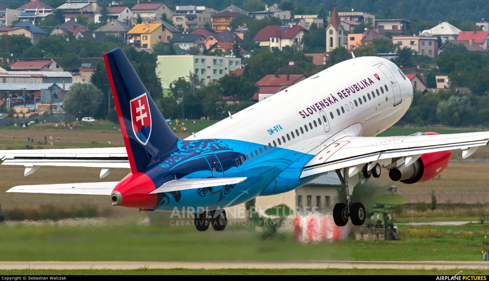 Slovakia - Government OM-BYA aircraft at Sliač