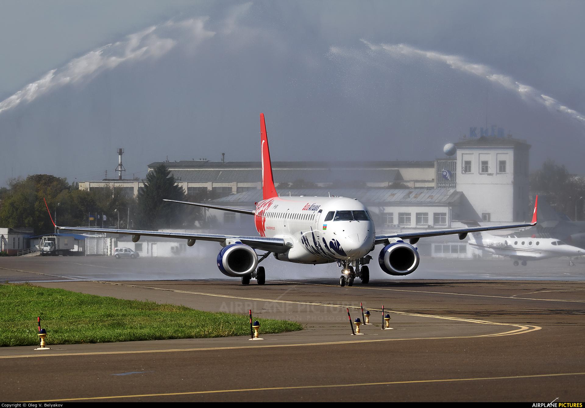 Buta Airways VP-BRV aircraft at Kiev - Zhulyany