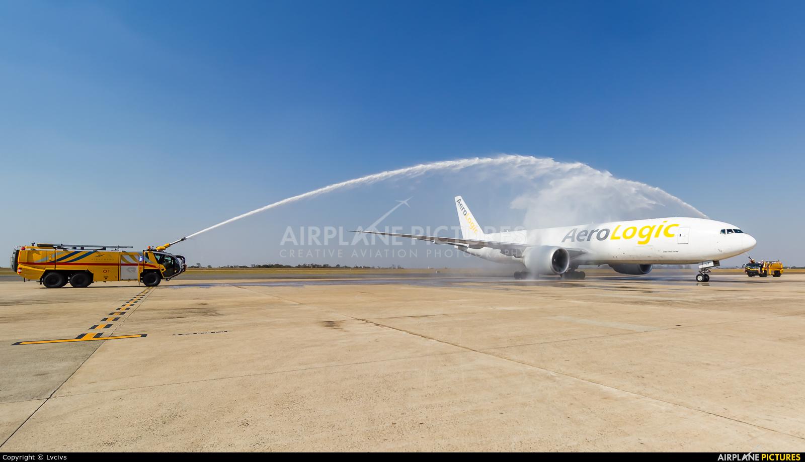 AeroLogic D-AALF aircraft at Campinas - Viracopos Intl